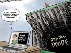 Digitale kloof (digital divide)
