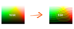 Colour depth