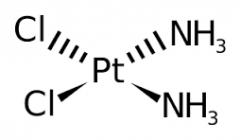 1) Square Planar - four coordinate bonds      2) Tetrahedral - four coordinate bonds