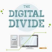 The digital divide.