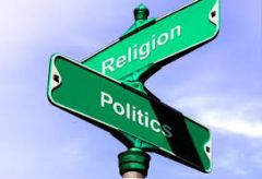 What is the complete separation between matters of the state and religion called?