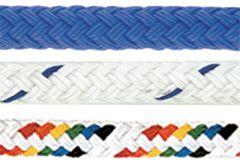 double braided nylon.