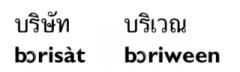 с unwritten a или с unwritten o в ряде слов, начинающихся с br.