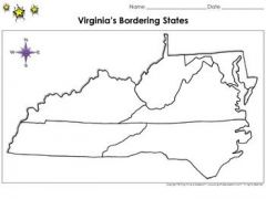 Bordering States of Virginia?