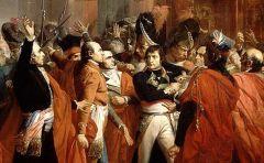 ¿Cuándo dio el Golpe de Estado Napoleón que puso fin al Directorio, iniciándose el Consulado?