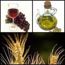 Cereal, vid y olivo