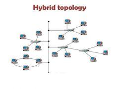 A design that combines topology design concepts into a larger more complex design