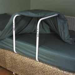 Verhindert druk van de bovenlaag op pijnlijke lichaamsdelen.
