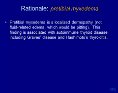 answer: Hashimoto's thyroiditis