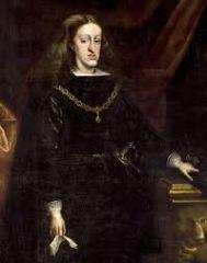 Rey español muerto en 1700.