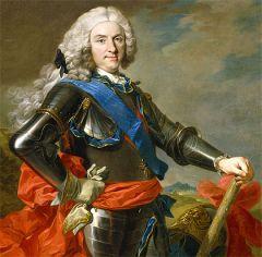 Sucesor designado por Carlos II.
