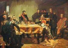 ¿Qué organización creada por los países absolutistas europeos envió un ejército para acabar con el Trienio Liberal?