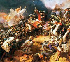 Guerra española e internacional entre 1701-1715 por el trono español.