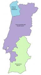 Tratado Franco-Español en 1807 para invadir Portugal de manera conjunta.