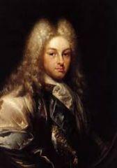 Candidatos a suceder a Carlos II en el trono español.