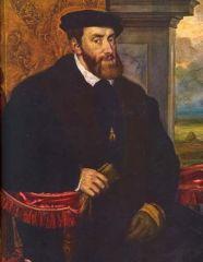 Felipe de Anjou y archiduque Carlos de Habsburgos.