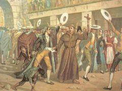 Castigo a la orden de los jesuitas por instigar el Motín de Esquilache.