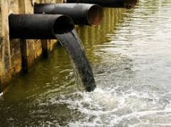 introduction to chemical, physical or biological agents that degrade water quality