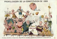constitución posterior a la revolución de 1868 en españa