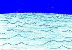 (rugiendo) mar