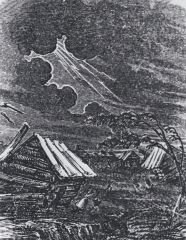 The New Madrid Earthquakes over the winter of 1811-1812 had what effect on Arkansas?