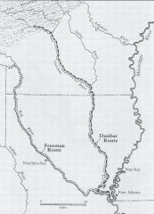 Map from textbook shows two expeditons both of which were: