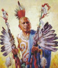 Charles Banks Wilson was an artist who gave us a portrait of a __________________ warrior.