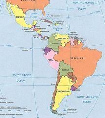En el norte USA y al sur Belice y Guatemala.