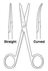 Mayo Scissors (heavy scissors)