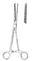 Kocher Clamp for very thick tissue (eg, fascia)