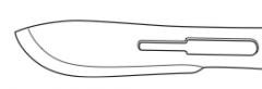 Define the following scalpel blade