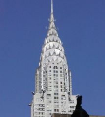 Art Deco   Chrysler Building,   New York