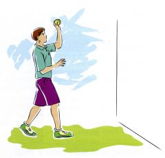 Alternate hand throw