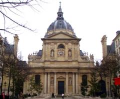 Iglesia de la Sorbona (2Fachadas)  Jacques Lemercier  Francia