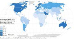 ¿Cuáles son los países subdesarrollados?