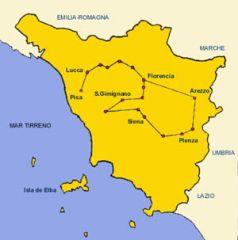 Las escuelas de Siena y Florencia.