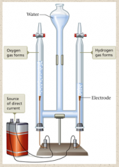 11.Electrolysis of Water – Water decomposes to ________ and ______ gases.