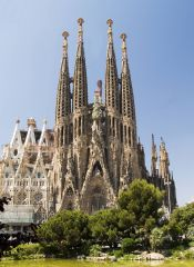 Born in Spain, 1852 Gaudi was an architect who had many characteristics of Art Nouveau within his work. There are bright tile mosaics and curving lines.  The most famous building that Antoni Gaudi is best known for, though, is La Sagrada Famili...