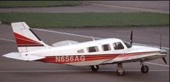 Which aircraft is depicted here? A. BE58 B. PAY1 C. PA34 D. P28A