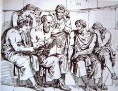 """¿Qué siglos que abarca el período """"antropológico"""" de la Filosofía antigua?"""