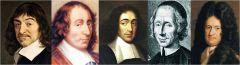 ►René Descartes (1596 - 1650) ►Blaise Pascal (1623 - 1662) ►Baruch Spinoza (1632 - 1677) ►Nicolas Malebranche (1638 - 1715) ►Gottfried Leibniz (1646 - 1716)