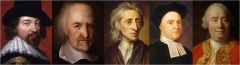 ►Francis Bacon (1561 - 1626) ►Thomas Hobbes (1588 - 1679) ►John Locke (1632 - 1704)  ►George Berkeley (1685 - 1753) ►David Hume (1711 – 1776)