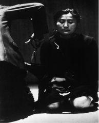 "Yoko Ono, ""Cut Piece"" 1964. Performance."