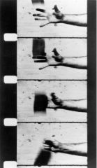 "Richard Serra, ""Hand Catching Lead"" 1968. Film."