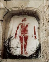"Ana Mendieta, ""Untitled (Silueta Series, Mexico)"" 1976. Photograph."