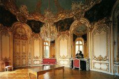 "-was the first interior designer  -designed the ""Salon De La Princesse Hotel De Soubise"""