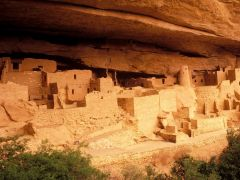 a member of an ancient American Indian people of the southwestern US, who flourished between circa 200 BC and AD 1500. The earliest phase of their culture, typified by pit dwellings, is known as the Basket Maker period; the present day Pueblo cult...