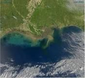 The Gulf of Mexico is an ocean basin largely surrounded by the North American continent. It is bounded on the northeast, north, and northwest by the Gulf Coast of the United States, on the southwest and south by Mexico, and on the southeast by Cuba