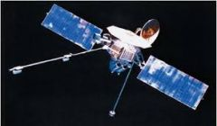An unmanned exploratory spacecraft designed to transmit information about its environment.