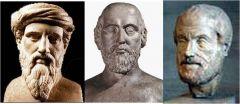 ► Pitágoras de Samos (siglo -VI) ► Alcmeón de Crotona (siglo -VI al siglo -V)  ► Filolao de Crotona (siglo -V al siglo -IV)